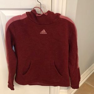 Junior's Adidas hoodie size small